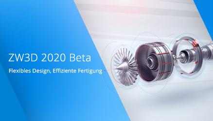 ZW3D 2020 Beta: Probieren Sie es aus!