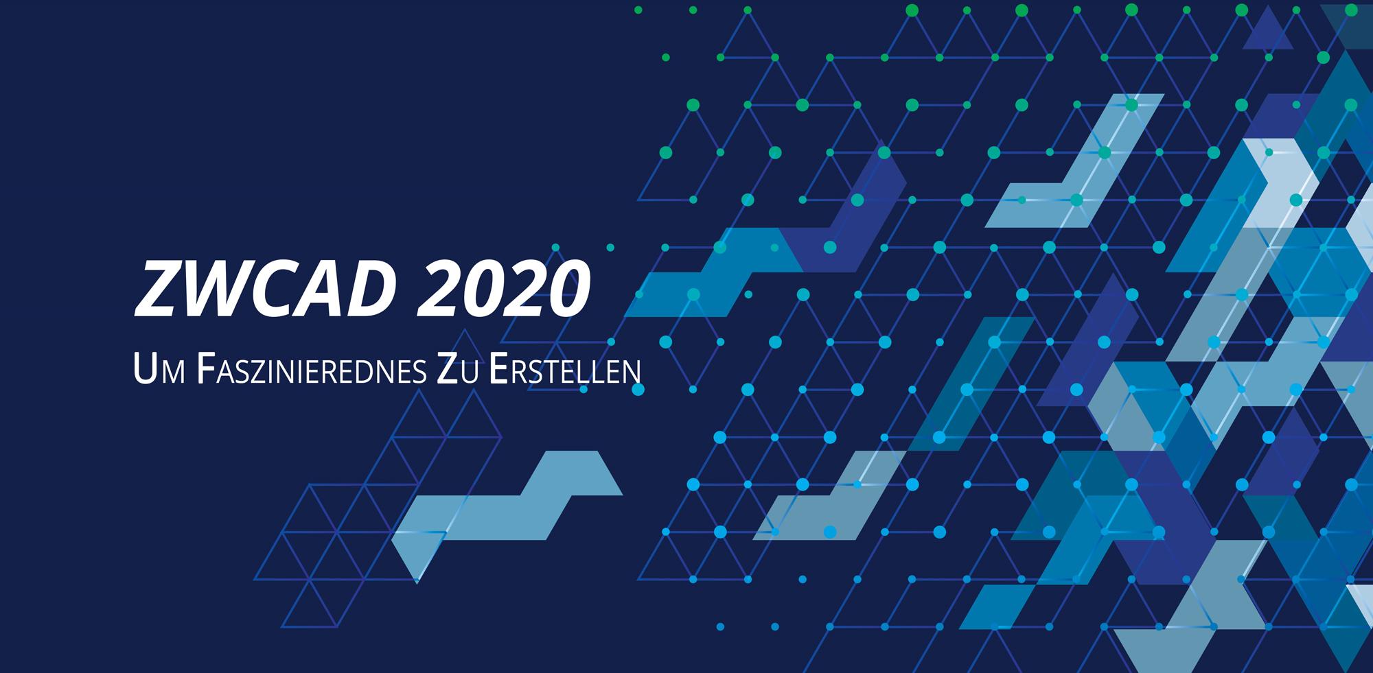 ZWCAD 2020 SP1 Jetzt verfügbar!