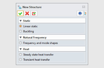 Multiple Types of Structural Simulation