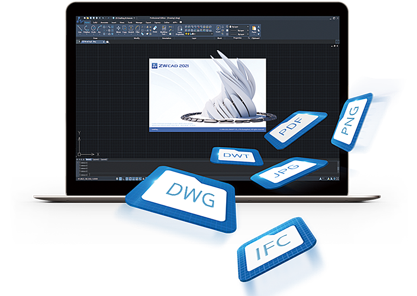 Seamless DWG Compatibility