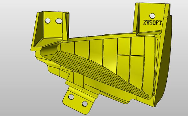 Figure 1. The headlight reflector