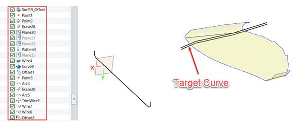 Figure 11. The target curve