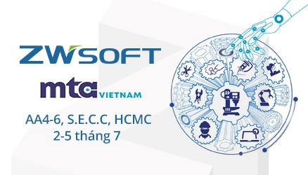 ZWSOFT will Meet you at MTA Vietnam 2019