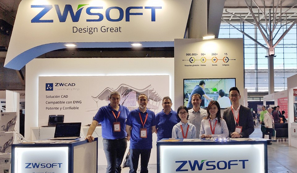 ZWSOFT will Meet You at BBC 2019 in Barcelona, Spain