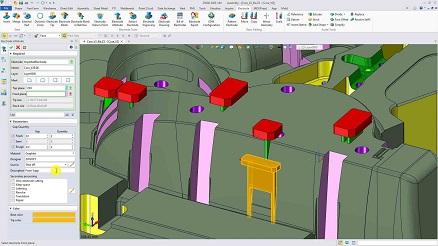 ZW3D 2020 Beta - Mold Module: Enhanced Mold & Electrode Application