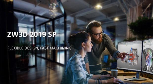 ZW3D 2019 SP lanzado: más robusto y fácil de usar