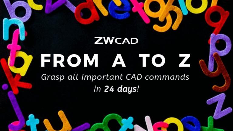 1MIN 1 CAD: Nắm bắt tất cả các lệnh CAD quan trọng trong 24 ngày